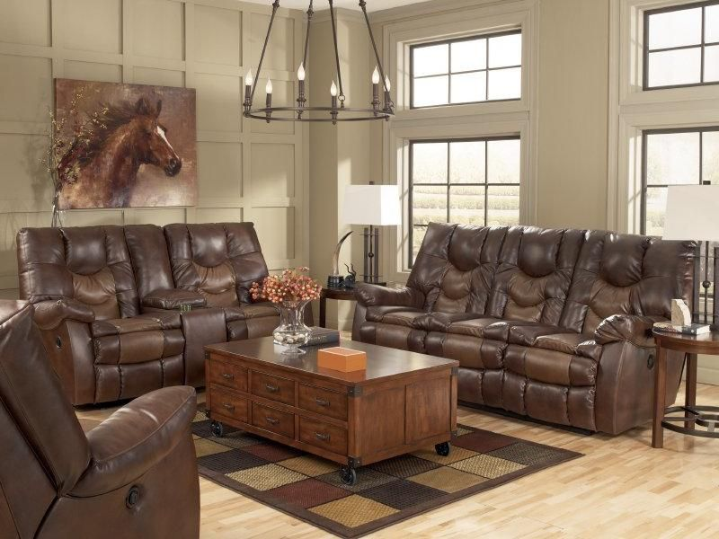 Living Room Ashley Gyro 1740088. The two toned DuraBlend