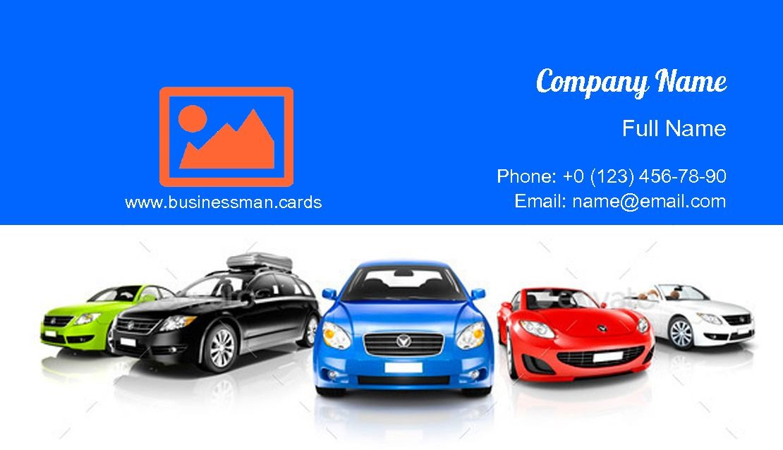 Colorful Generic Cars Businesscards Template Colorful Business Card Download Business Card Business Card Template