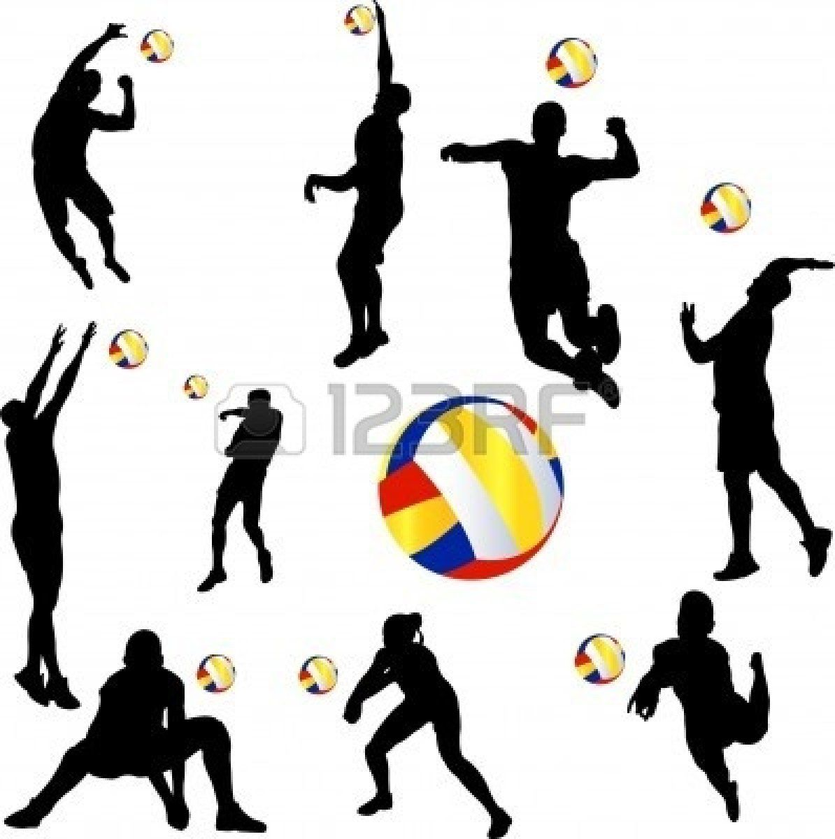 Volleyball Volleyball Players Volleyball Sports