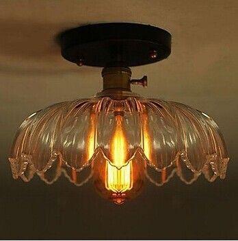 Retro Loft Style Edison Industrial Vintage Ceiling Lamp