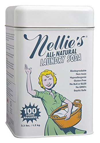Nellie S All Natural Laundry Soda 3 3 Lbs 1 Nellie S