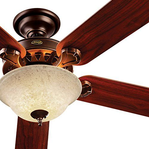 Factory-reconditioned 52-inch Onyx Bengal Finish Ceiling Fan with Remote Control- 90% Pre-Assembled Hunter http://www.amazon.com/dp/B00OBWY6EY/ref=cm_sw_r_pi_dp_RBlDwb17BF1NF