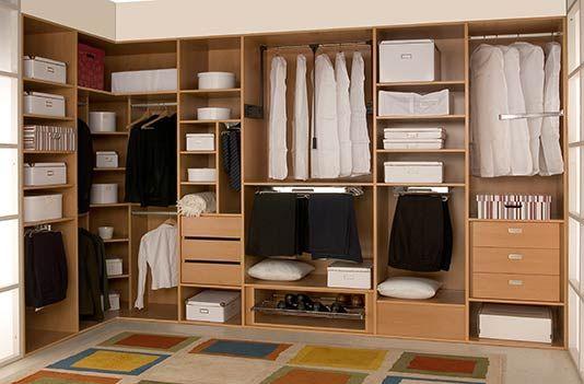 vestidores emportados | Closets 1 | Pinterest | Bedrooms