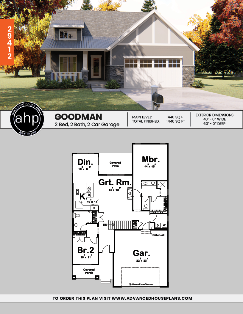 1 Story Cottage House Plan Goodman Cottage House Plans Cottage Style House Plans Cottage Homes