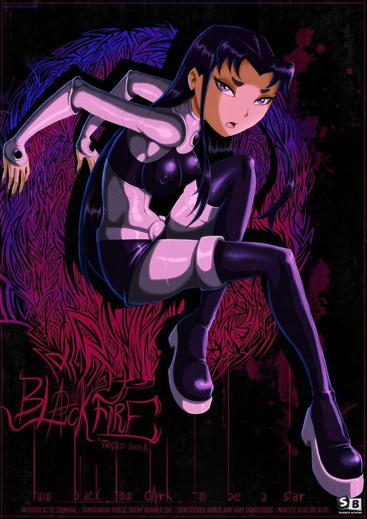Teen Titans Blackfire sex