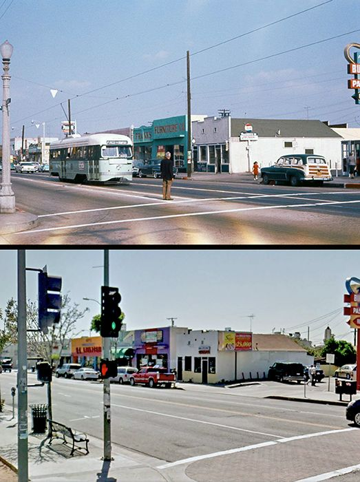 Then And Now East 1st Street 3000 Block Bizarre Los Angeles East Los Angeles Los Angeles History Los Angeles