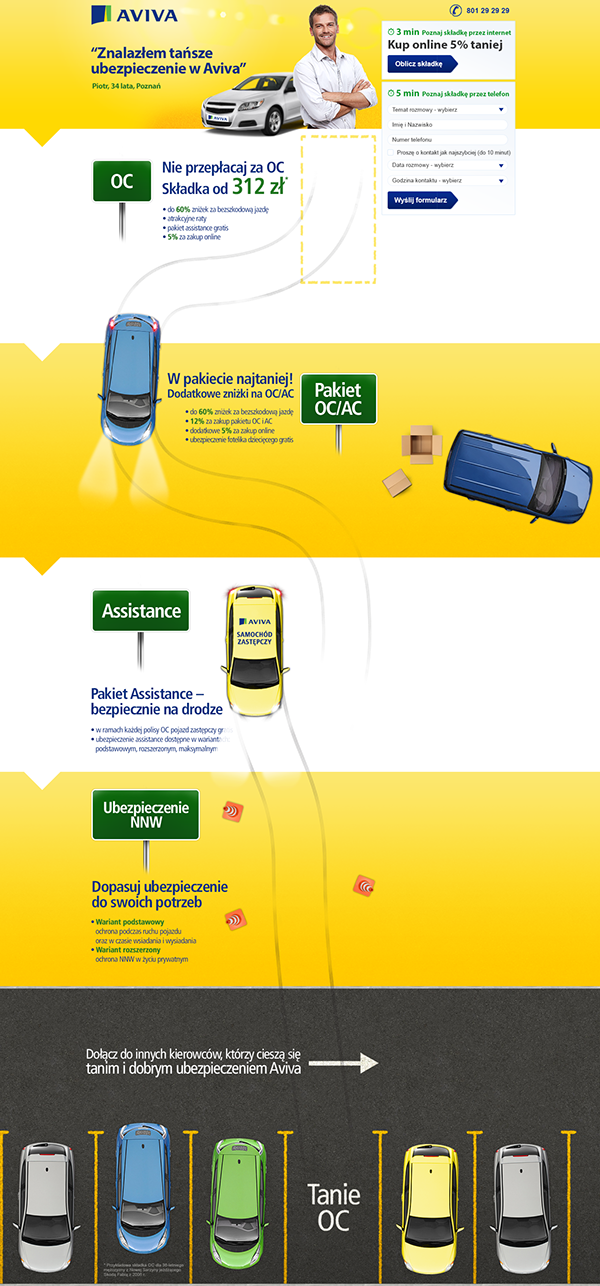Aviva Car Insurance On Behance With Images Car Insurance Insurance Aviva