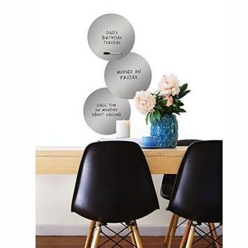 Wall Pops Ice Dry Erase Dots - Wall Sticker Outlet