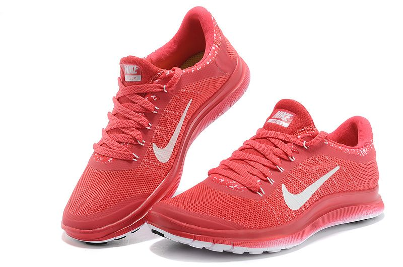 Nike Free 3.0 V6 Damen Rosa Weiß Schuhe