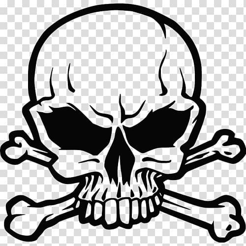 Skull And Bones Skull And Crossbones Human Skull Symbolism Sticker Skull Transparent Background Png Cl Skull And Bones Skull And Crossbones Skull Illustration