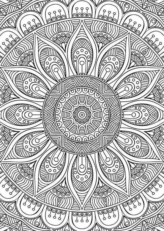 Check Out This Super Intricate Mandala Pattern Check Us Out On