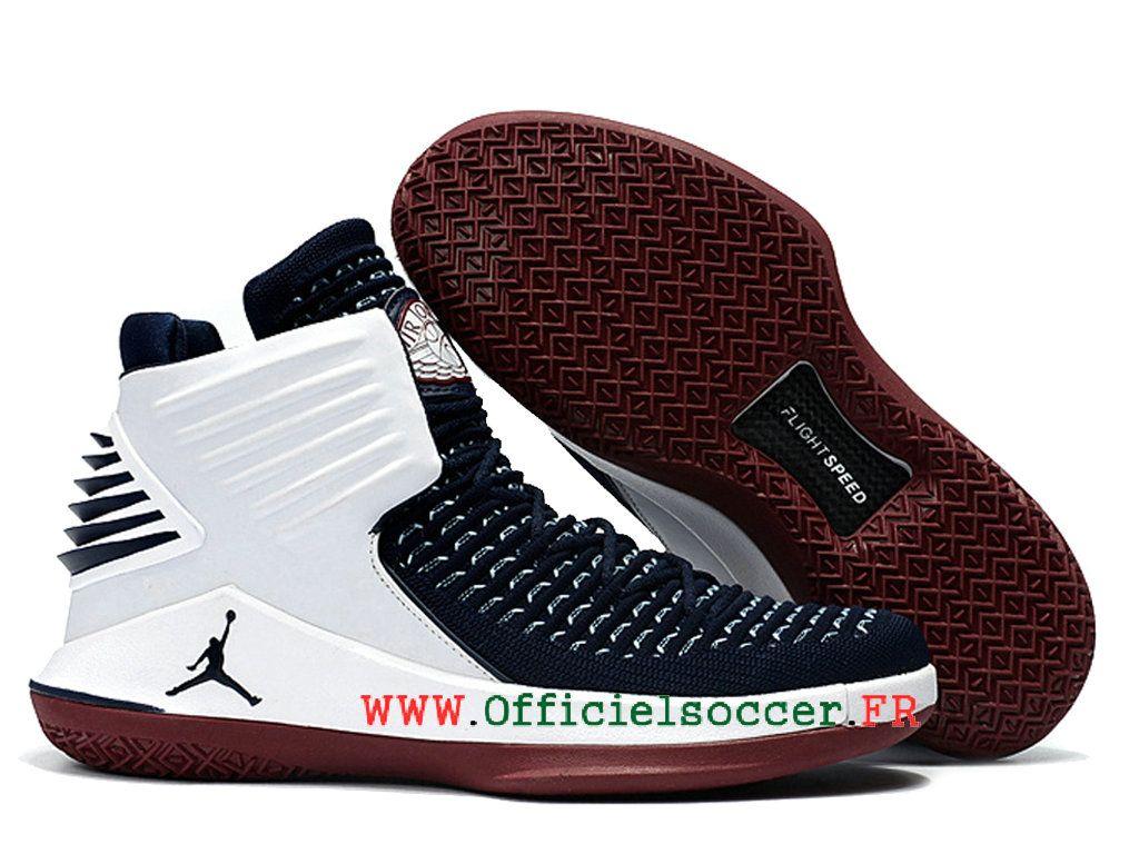 2018 Air-Jordan-32-officielles Chaussues Nike La culture Jordan Pour Moins  cher