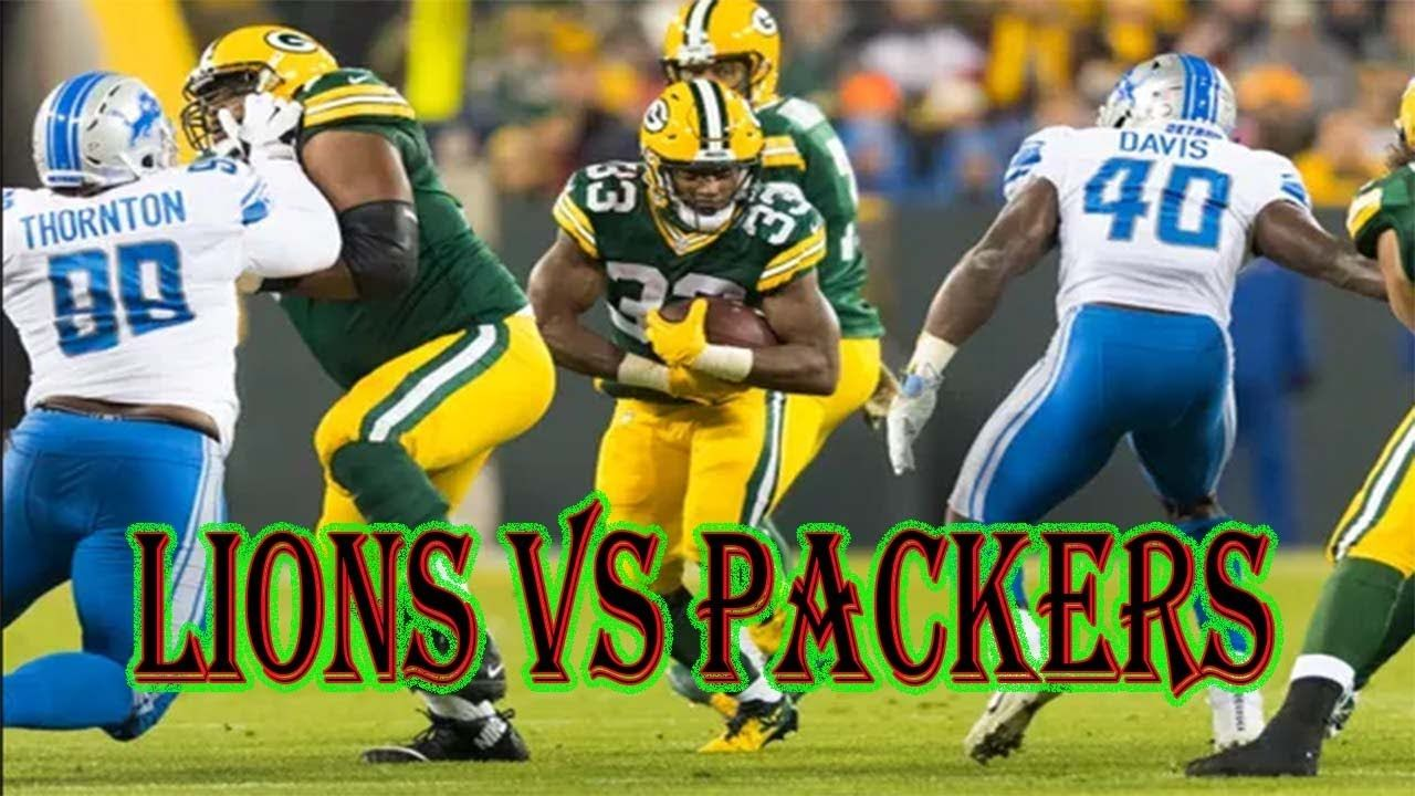 Detroit Lions Vs Green Bay Packers Game Preview Week 6 Mondy Night Fo Green Bay Packers Game Packers Games Green Bay Packers