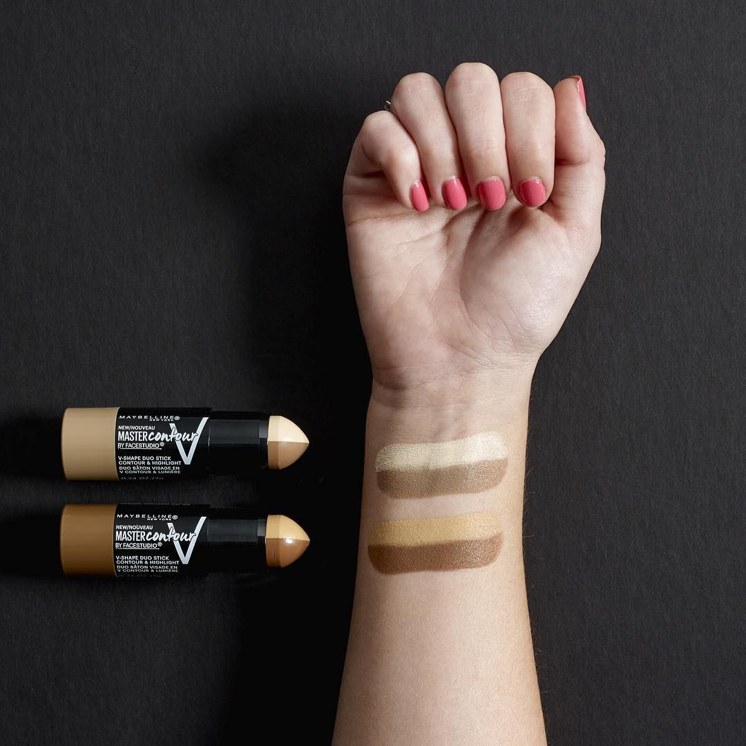 FaceStudio Master Contour V-Shape Duo Stick by Maybelline #21