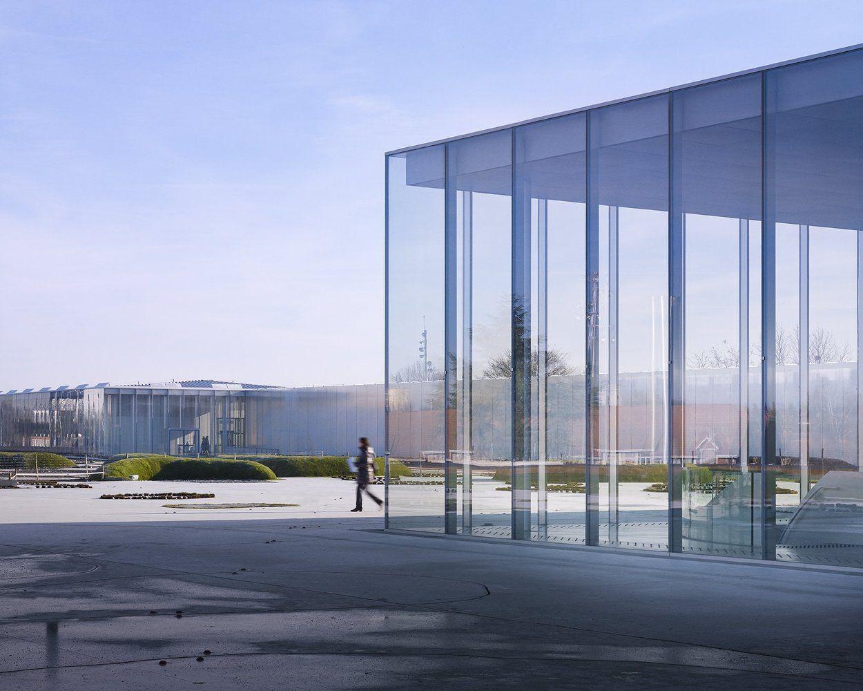 Gallery of louvre lens sanaa 18 arch detail pinterest architektur gewerbebau und - Japanische innenarchitektur ...