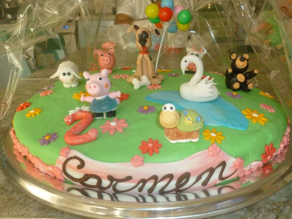 torta  2°compleanno