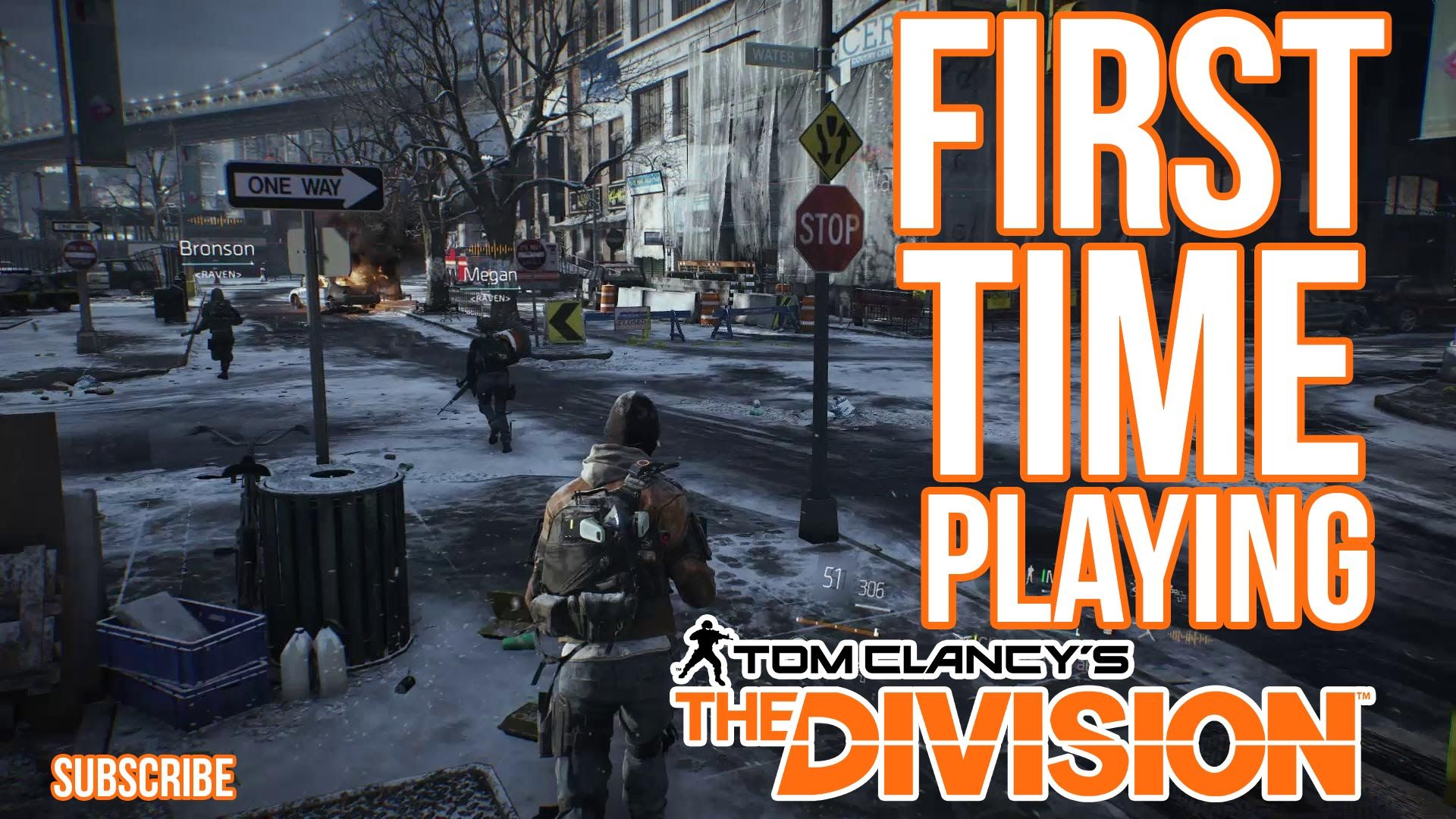 Playing Tom Clancy's The Division™ for the FIRSt time