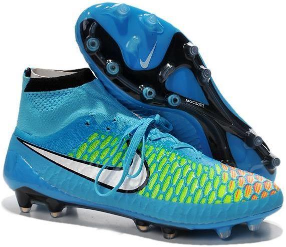 Nike Magista Obra ACC TPU FG Soccer Boots blue white black