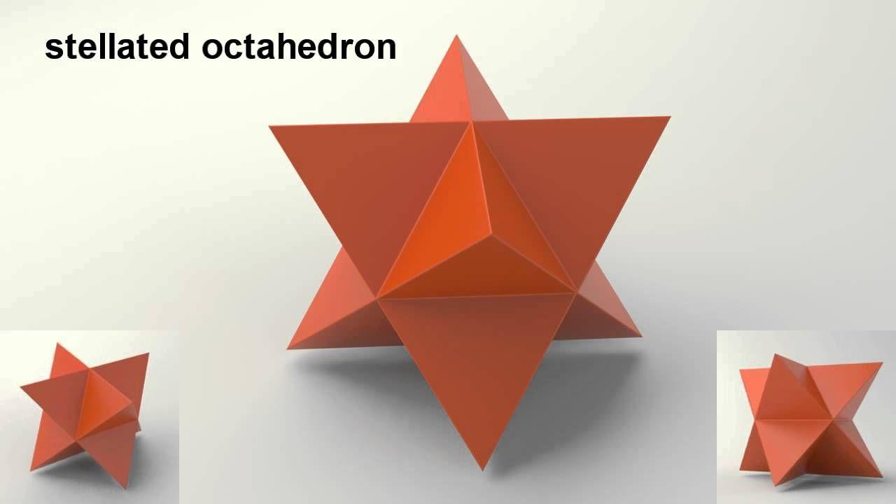 Stella Octangula Sacred Geometry Octahedron Stella