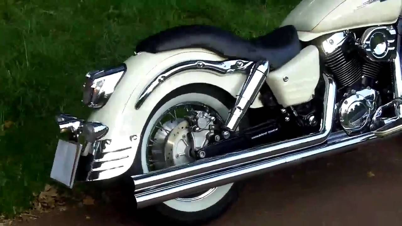 hight resolution of honda shadow vt 1100 c3