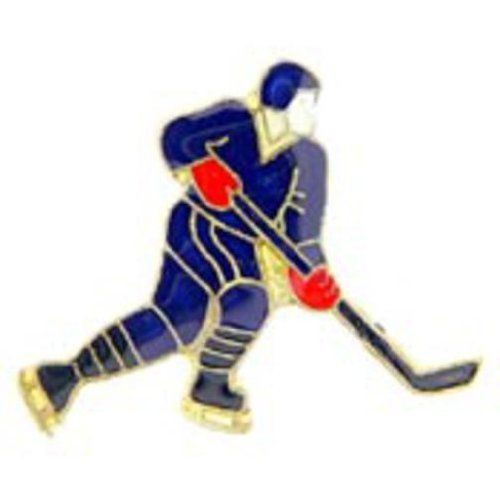"""Hockey Player Pin 1"""" by FindingKing. $8.99. This is a new Hockey Player Pin 1"""""""