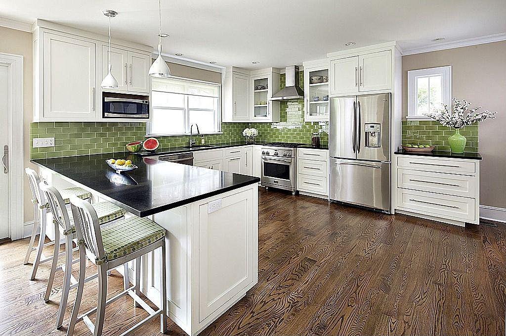 Granite - simple, Crown molding, Breakfast Bar, Modern, Traditional ...