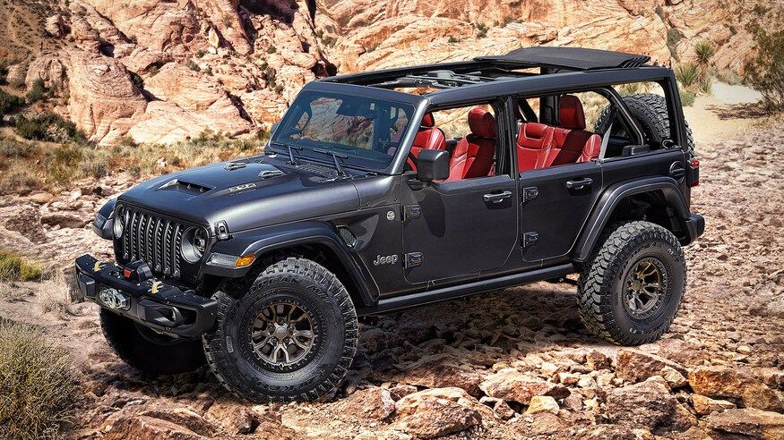 What Bronco Jeep Wrangler Previews Factory V 8 Engine On Eve Of