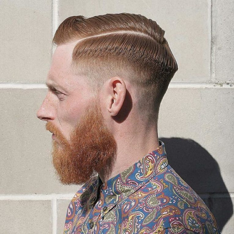 80 Powerful Comb Over Fade Hairstyles - (2020) Comb On Over! in 2020 | Hair styles, Comb over ...