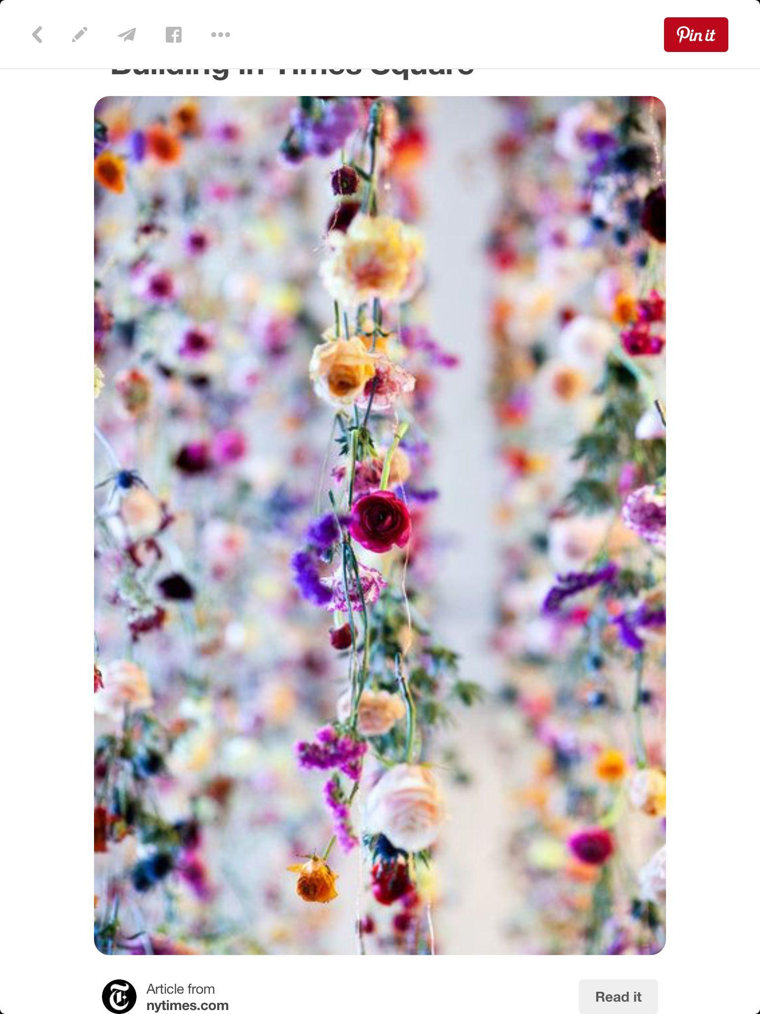 Floral strands