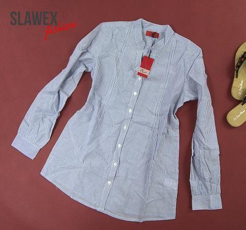 Atrakcyjna Koszula W Paski Ze Stojka 36 38 Q3333 3615135302 Oficjalne Archiwum Allegro Shirt Dress Shirts Mens Tops
