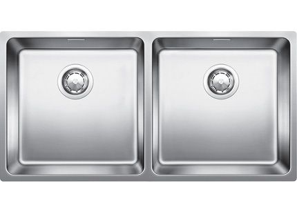 Blanco double bowl inset or flush mount sink (model ANDANO400/400IFN ...