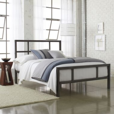 Spencer Metal Bed found at @JCPenney | apartment | Pinterest