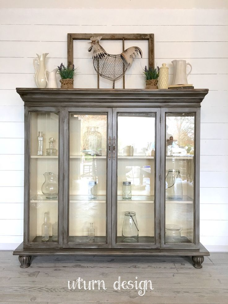 Boho Farmhouse Hutch