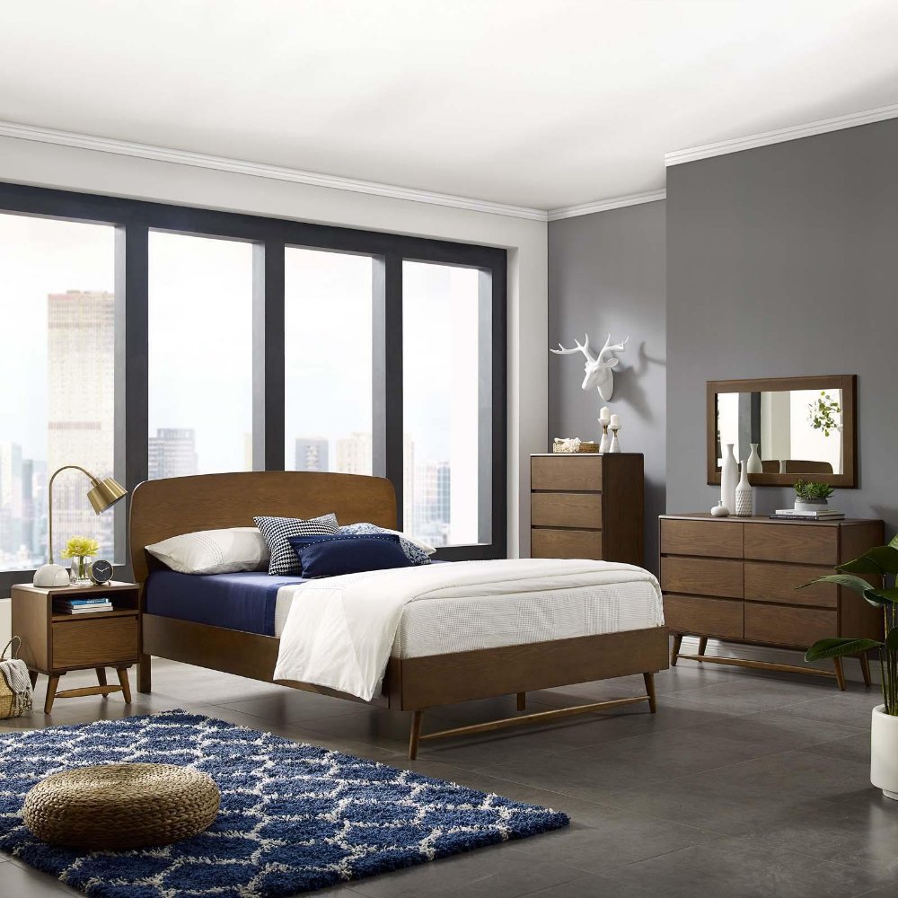 Transform your bedroom into a rustic, retroinspired
