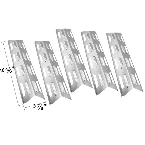 5 Pack Replacement Stainless Steel Heat Plate/shield For Backyard Grill  BY12 084