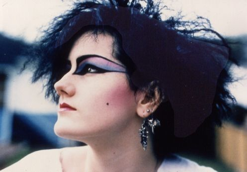 1980s Traditional Goth Makeup Dark Punk Love The Crazy Eye