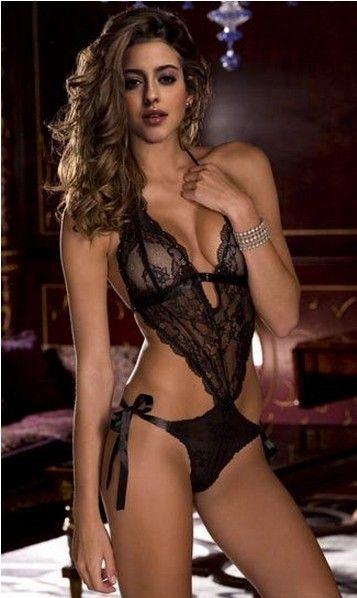 7aee4c54d5c Aliexpress.com   Buy 2013 New Sexy Hot Women s erotic lingerie underwear  See Through Lace One piece Teddy Backless Dress Club Sleepwear Night Robe J  from ...