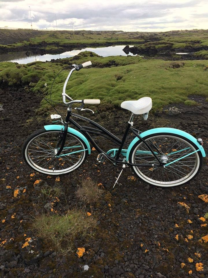 BICICLETA BEACH CRUISER PARA MUJER JENNY Emoticón heart Bicicleta ...