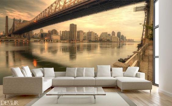Fotografisches-fenster-auf-new-york-furs-wohnzimmer-fototapeten