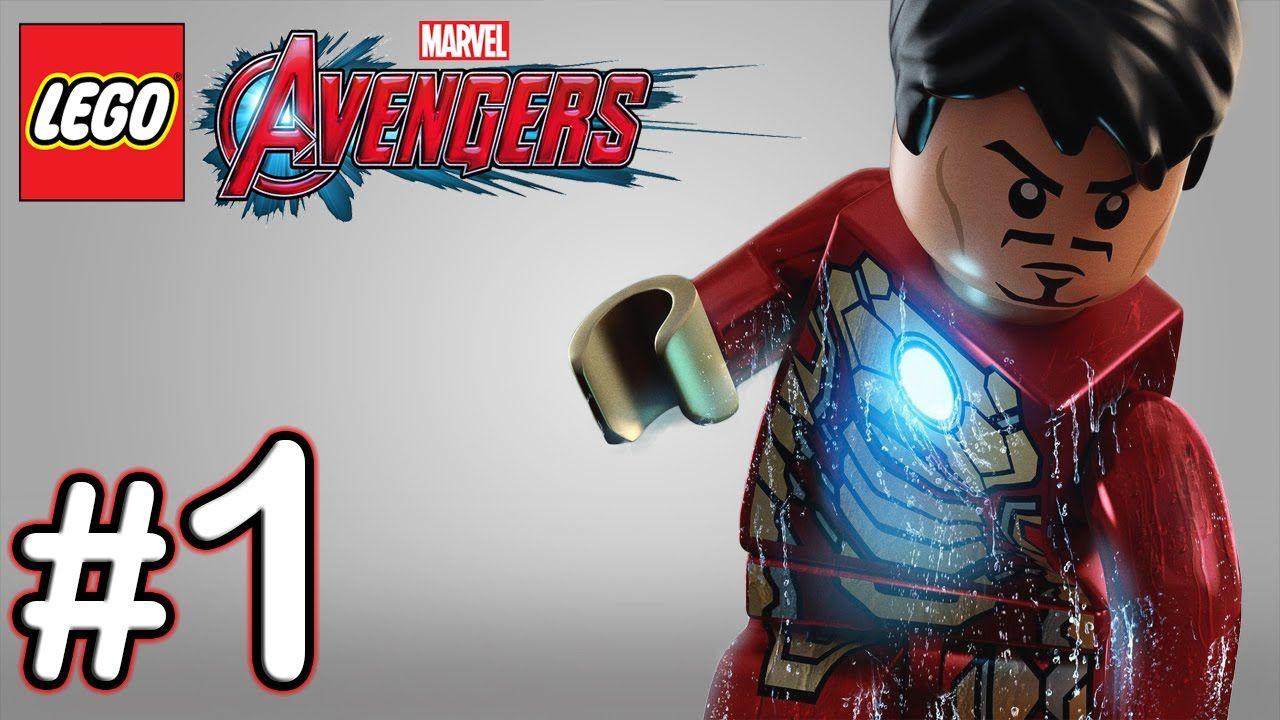 LEGO Marvel Avengers Part 1 Walkthrough Gameplay