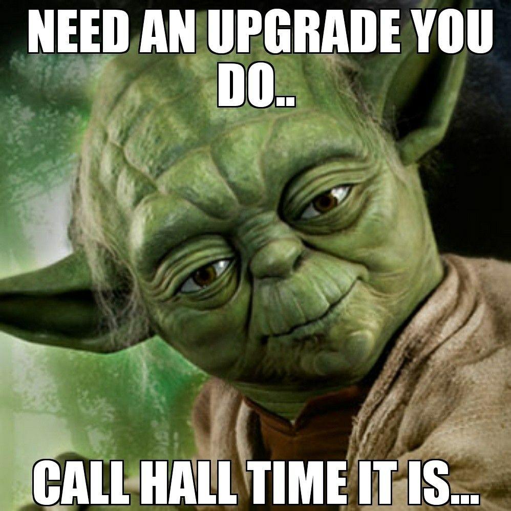 timetocallhall Star wars humor, Star wars yoda, Star