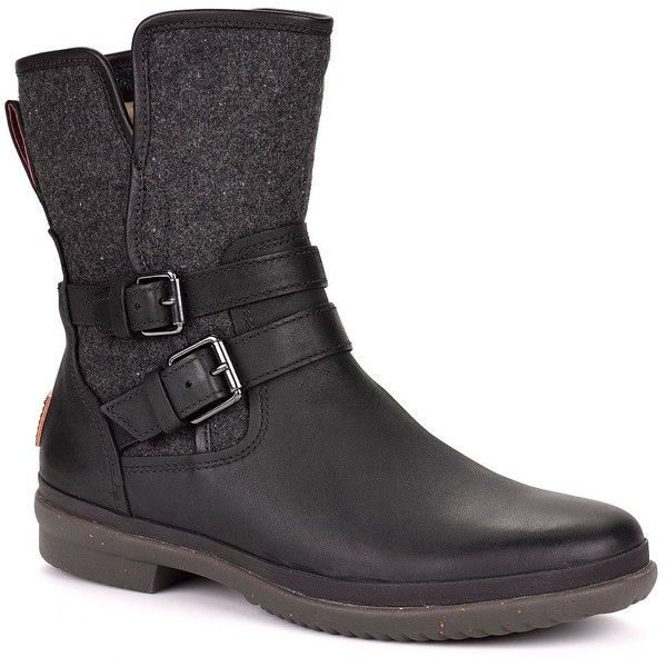 UGG Leather Biker Boots