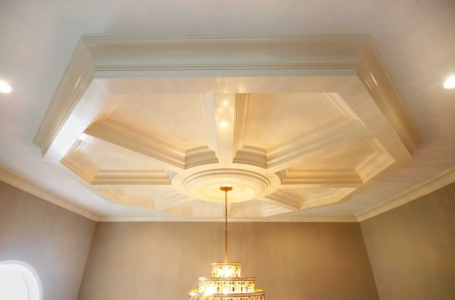 ideas designs ceiling and ceilings kit coffered