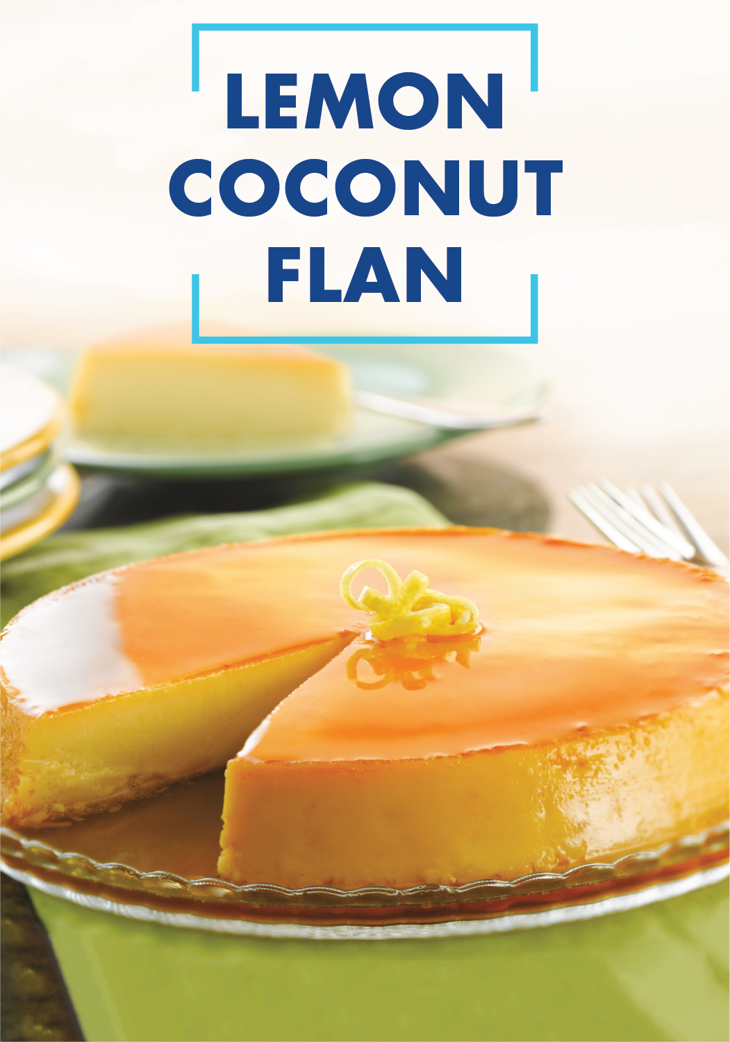 Photo of Lemon Coconut Flan