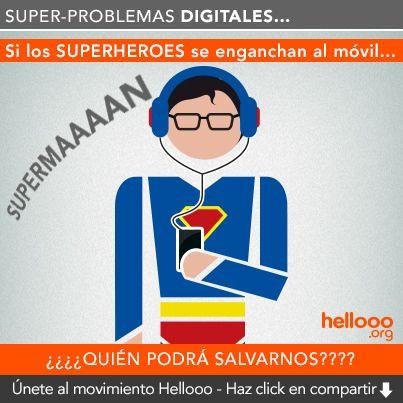 Super-problemas digitales #superman