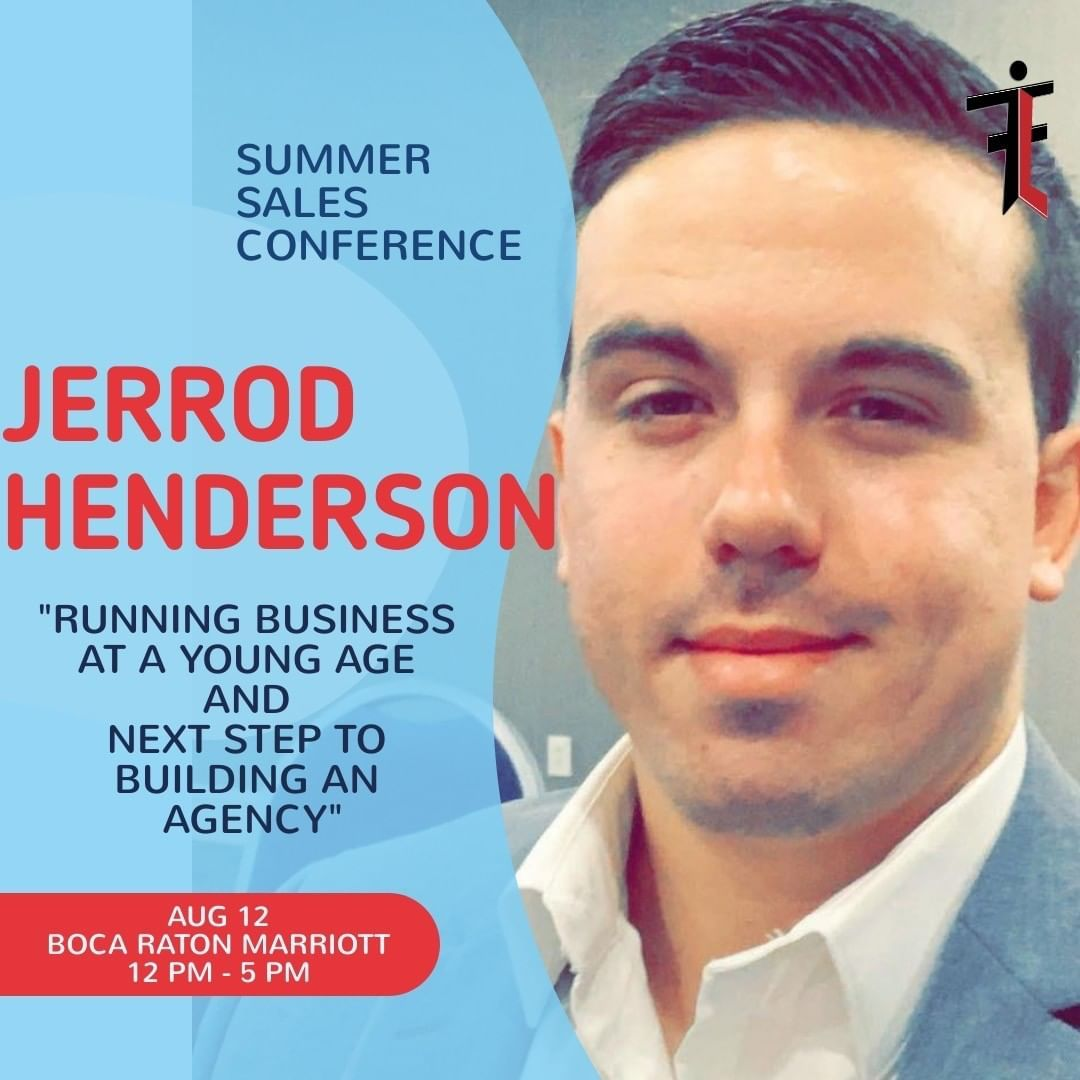 Less Than One Week Away Join Us As Jerrod Henderson Teaches You