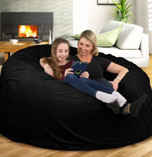 The Ultimate Sack 6000 Bean Bag Chair Is A Great Place To Stretch Out After  A Long Day Or To Hang Out With Some Friends To Catch A Movie.