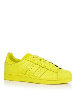 adidas Superstar Pharrell Colourpack sneaker geel (met ...