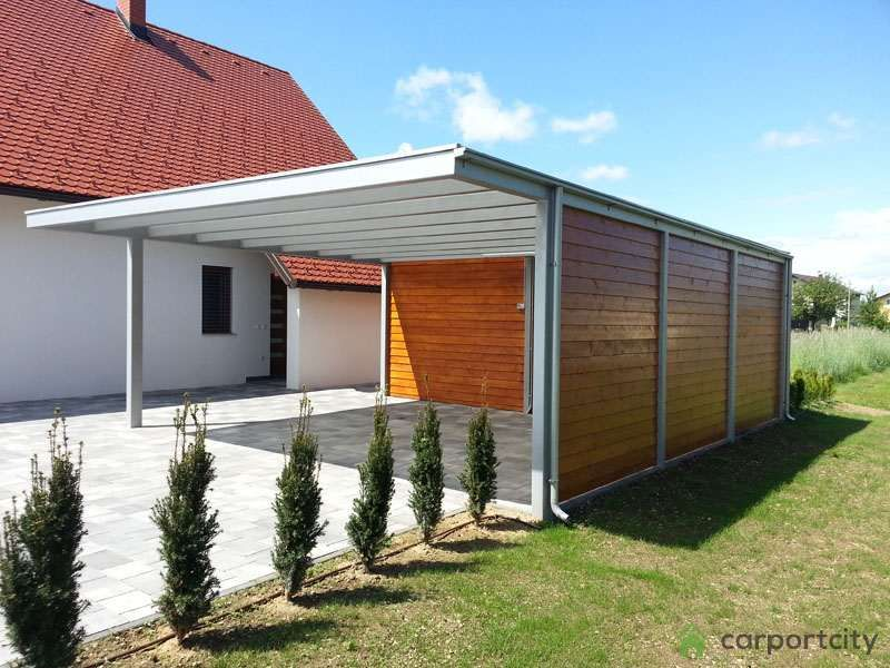 Garage mit carport modern  Carport designs that complement your house. Check out our carport ...