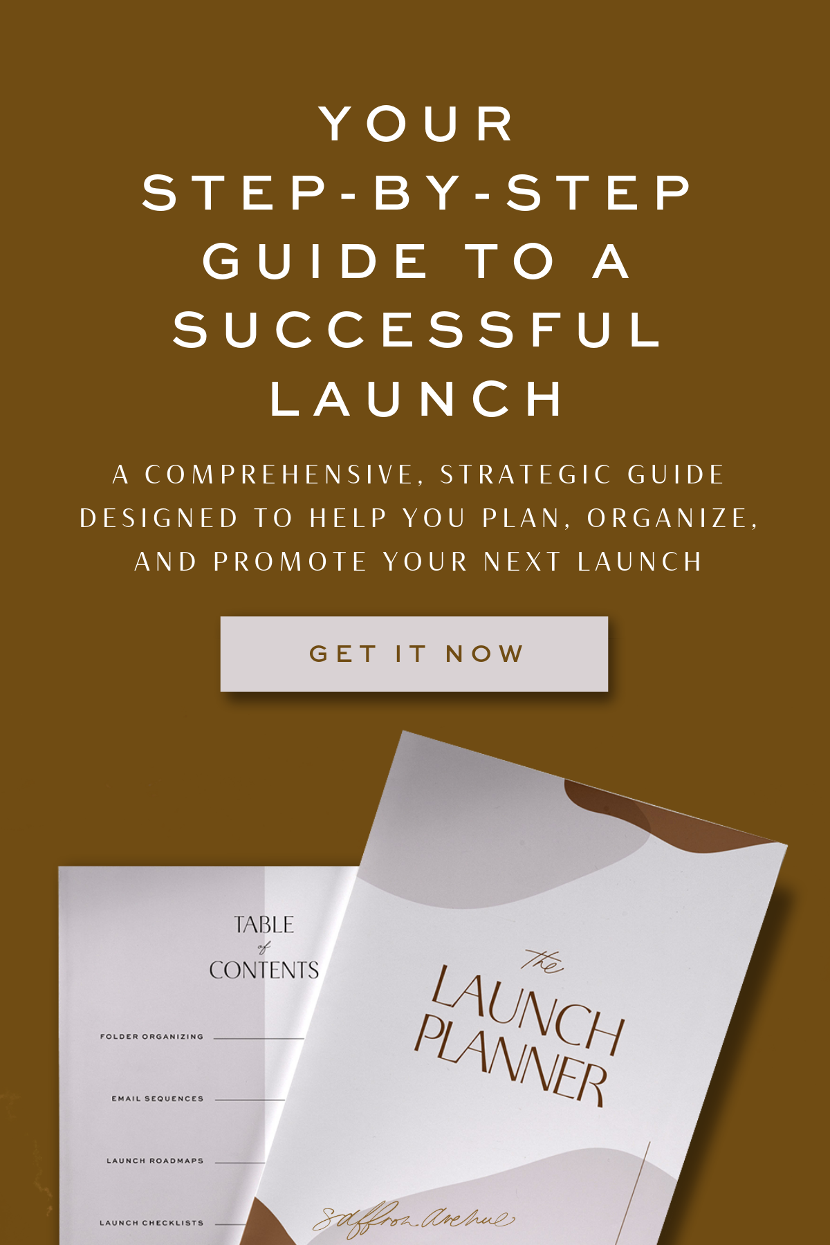 The Launch Kit Planner & Launch Guide | Branding | Logos | Packaging